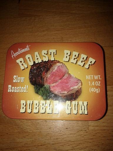 Mmmm.. du roast beef!