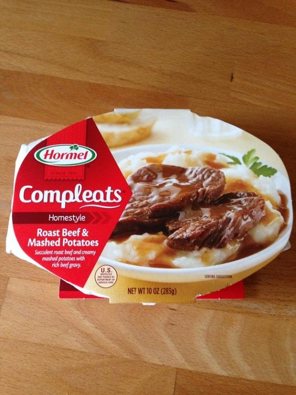 Il fait partie de la gamme Compleats... complhahahahahaha! Savoureux jeu de mots! Un mix de complete et eats... WOW! Le dude du marketing à clairement étudié à Harvard!!!!