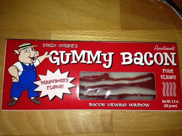Tadaaaaaaaaaaam - Bacon (à saveur de jujubes) à la fraise!
