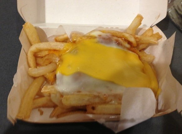 Du Bon Manger - cheese fries 2