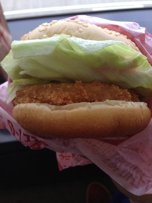 Du bon manger - Shrimp filet o -  japon sandwich de proche