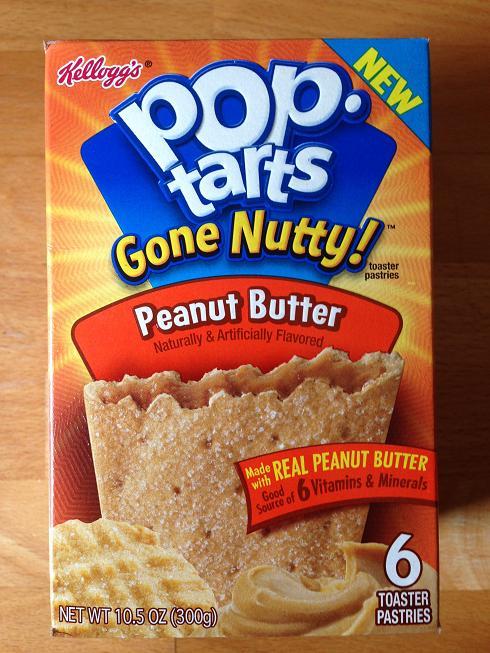 du bon manger - poptarts au beurre de peanuts