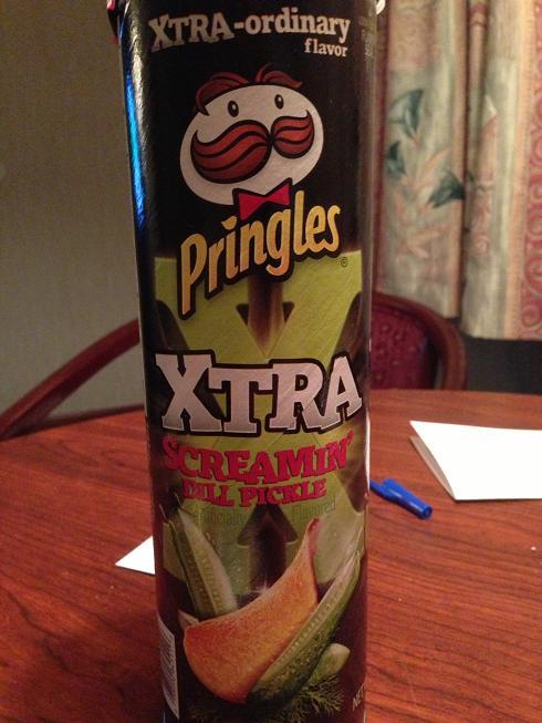 Du Bon Manger - Pringles creaming dill pickle