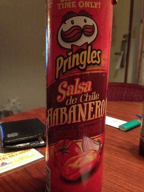 Du Bon Manger - Pringles salsa de chile habanero