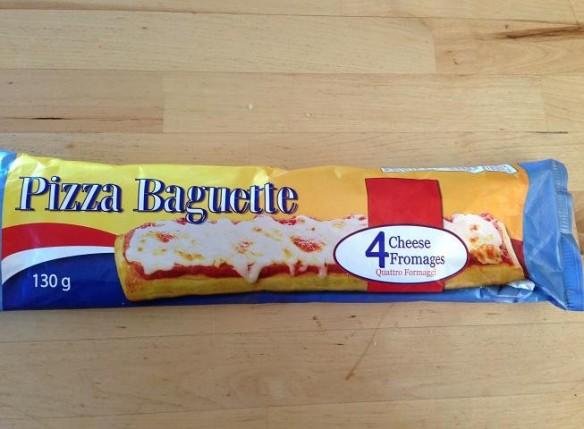 "La baguette ""Quattro Formaggi""! FORMAGGI?"