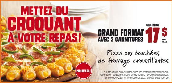 Du bon manger - pizza hut