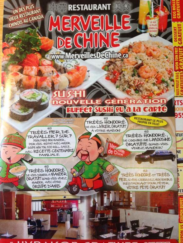 Du bon manger - Merveille de chine
