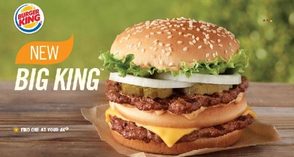 Du bon manger - Big King