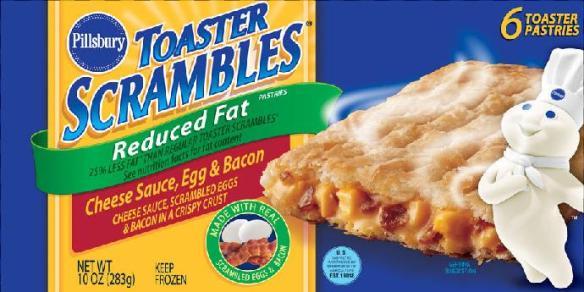 Du bon manger - Pillsbury toaster scrambles