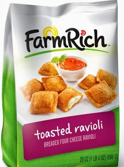 Du bon manger - toasted raviolis
