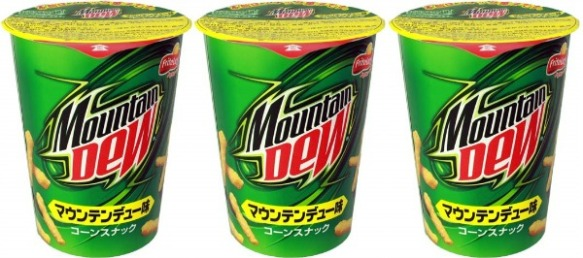 Du bon manger - mountain-dew-cheetos