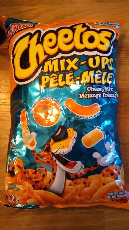 Du bon manger - Cheetos party mix