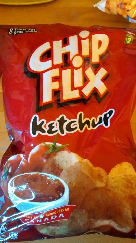 Du bon manger - Chip flix ketchup