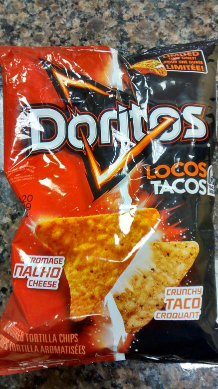 du bon manger - doritos taco bell doritos