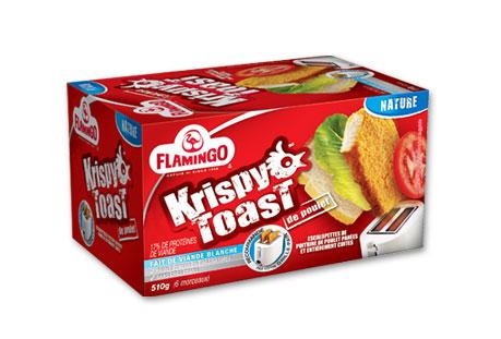 Du bon manger - krispy toast