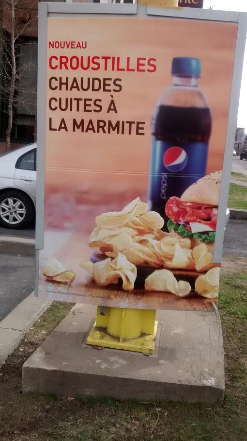Du bon manger - Chips tim hortons