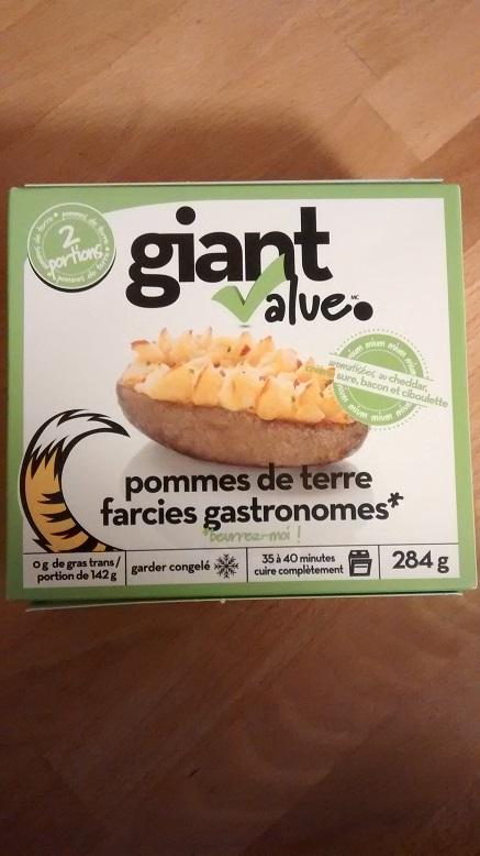 Du Bon Manger - patates au four micro-ondables