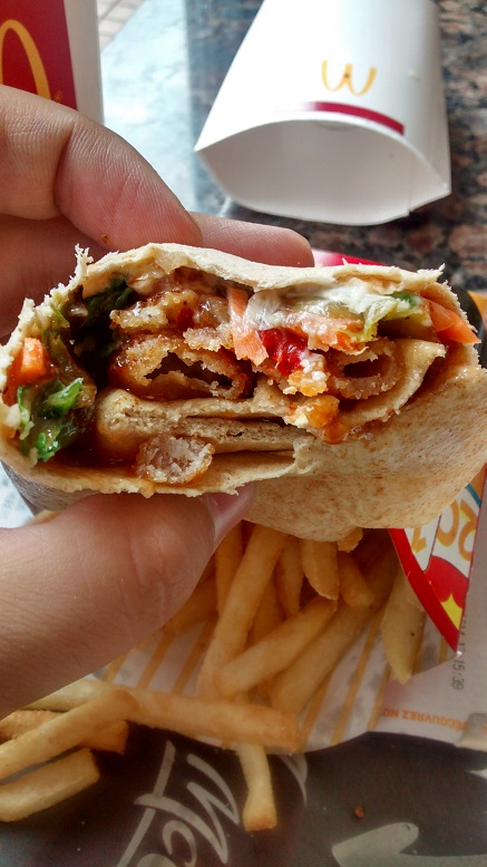 Du Bon Manger - Wrap crevettes mcdo 3