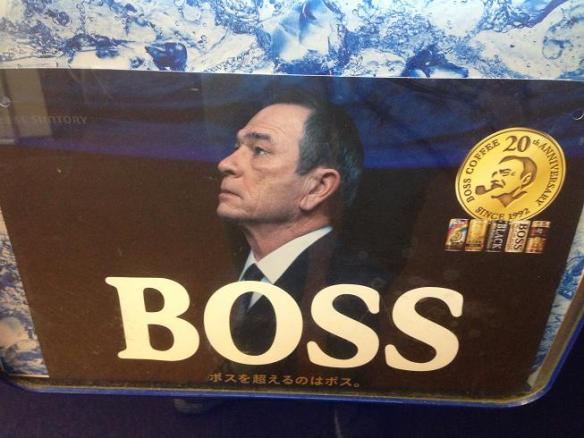 Tommy Lee Jones!?!?! Peut-être qu'il prépare un nouveau film... Men in Black Coffee! Hahahahaha!