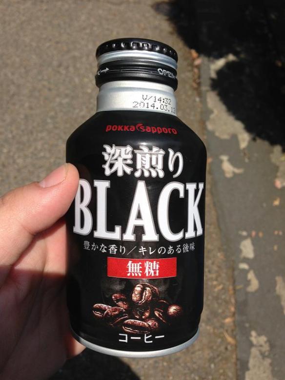 Du café noir frette NOIR!