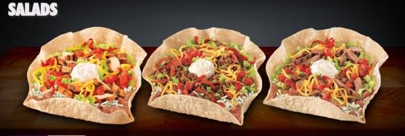 du bon manger- salad taco bell