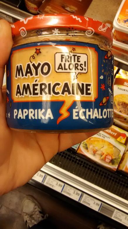 du bon manger- Mayo frites alors