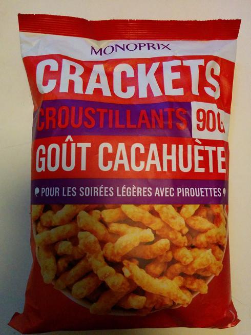 Du bon manger - Monoprix crackets