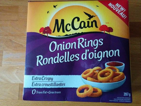 Du Bon Manger - Onion rings mccain