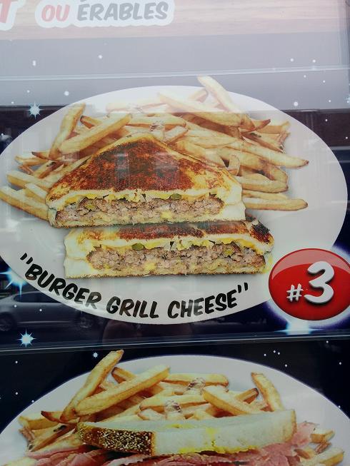 Du Bon Manger - Burger Grill Cheese