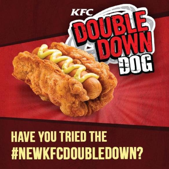 Du Bon Manger - doubledown hotdog