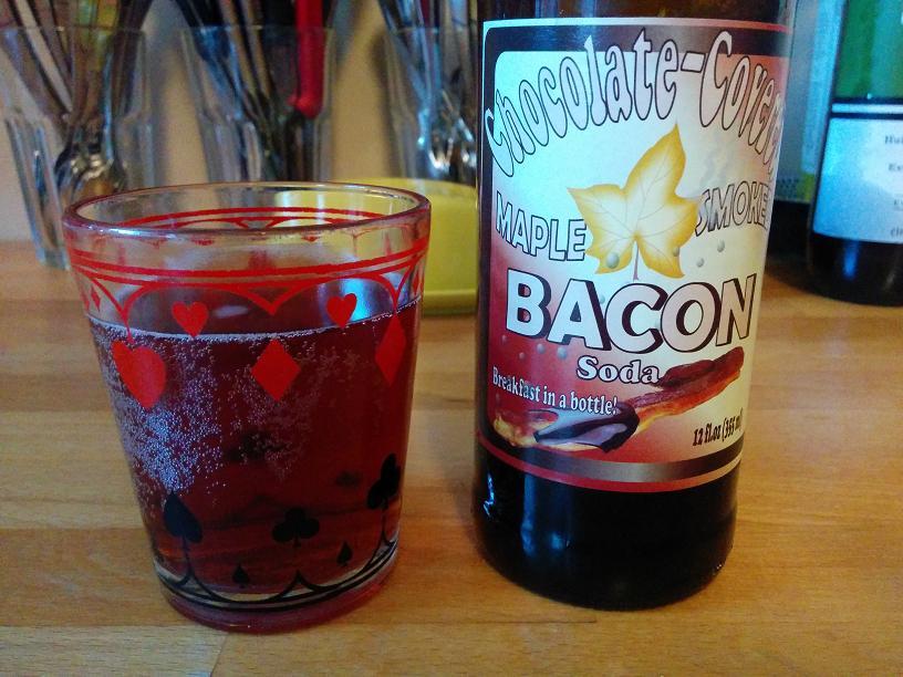 Du bon manger - Chocolate covered maple smoked bacon soda 2