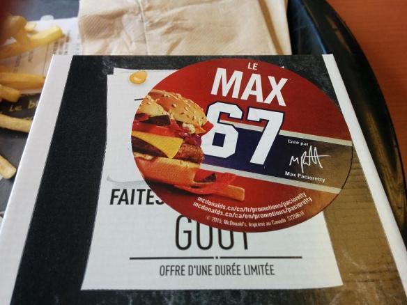 Du bon manger - Max 67 2