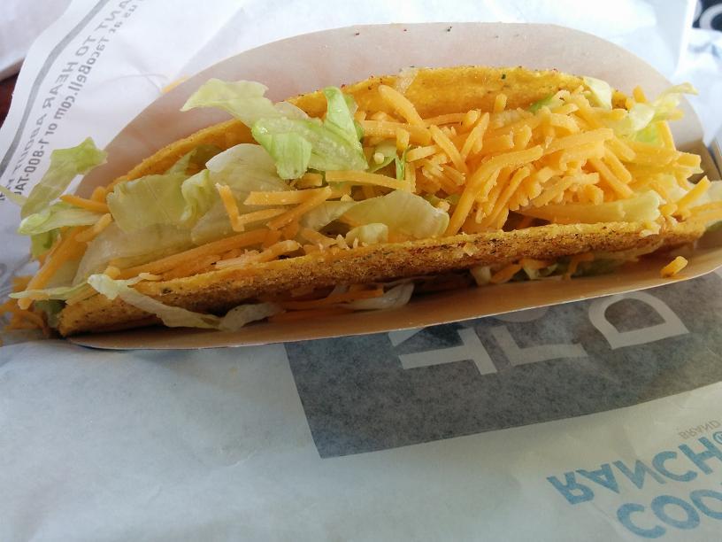 Du bon Manger - Taco Bell Cool Ranch locos tacos
