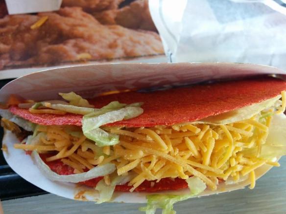 Du bon Manger - Taco Bell fiery loco tacos