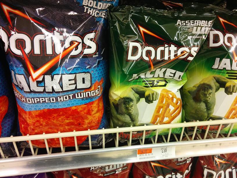 Du Bon Manger - Rejet Doritos stacked 3d