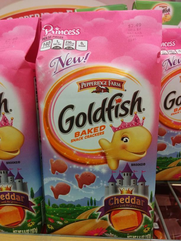 Du Bon Manger - Rejet Goldfish roses