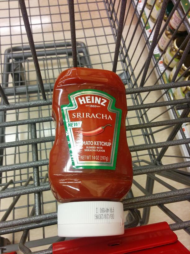 Du Bon Manger - Rejet Ketchup Sriracha
