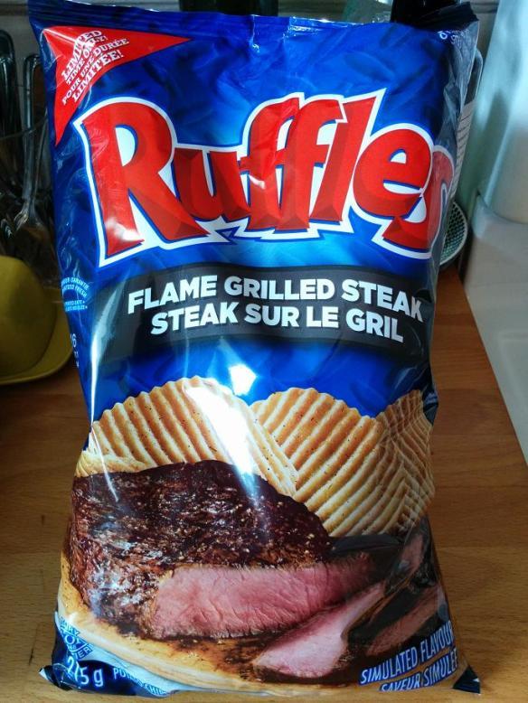 Du bon manger - Ruffles steak gril