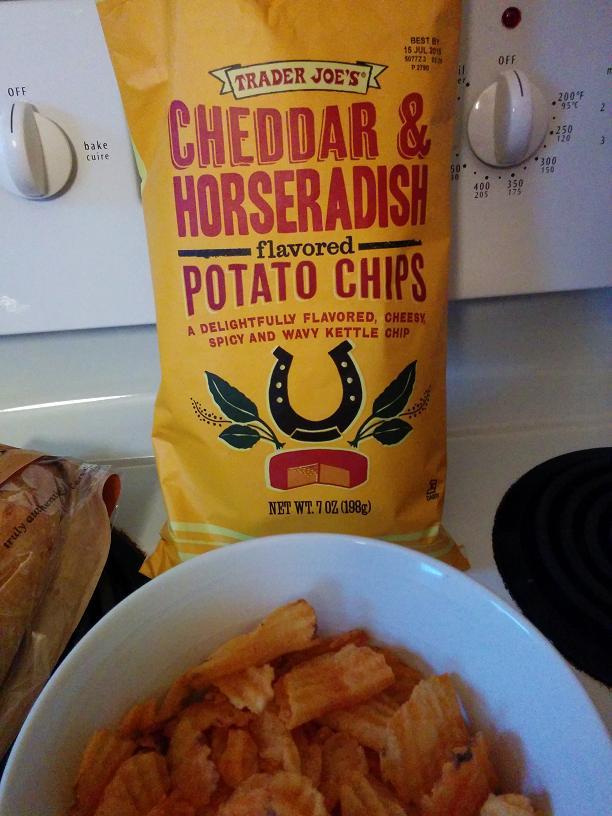 Du Bon Manger - Chips Cheddar & Horseradish