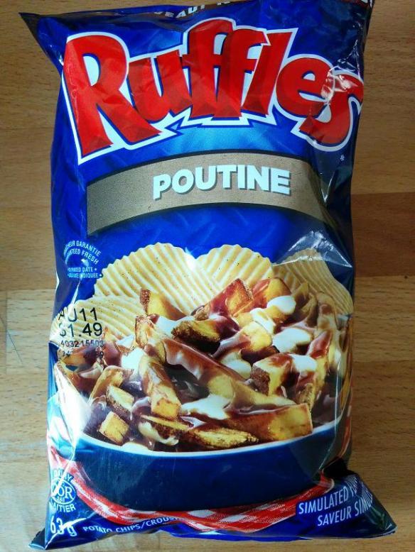 Du Bon Manger - Chips Ruffles Poutine