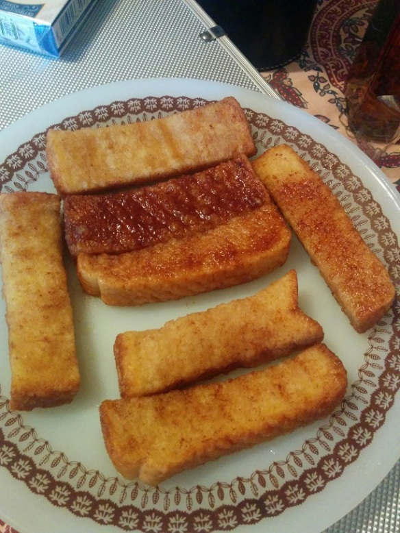 Du Bon Manger - tigre géant french toast sticks 3