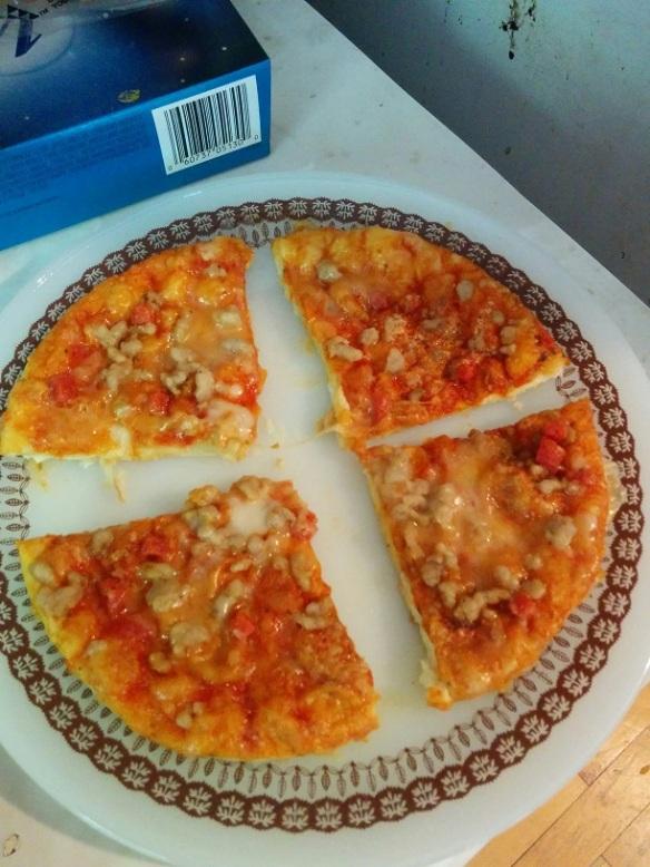 Du Bon Manger - tigre géant pizza style de viande 3