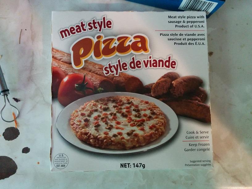 Du Bon Manger - tigre géant pizza style de viande