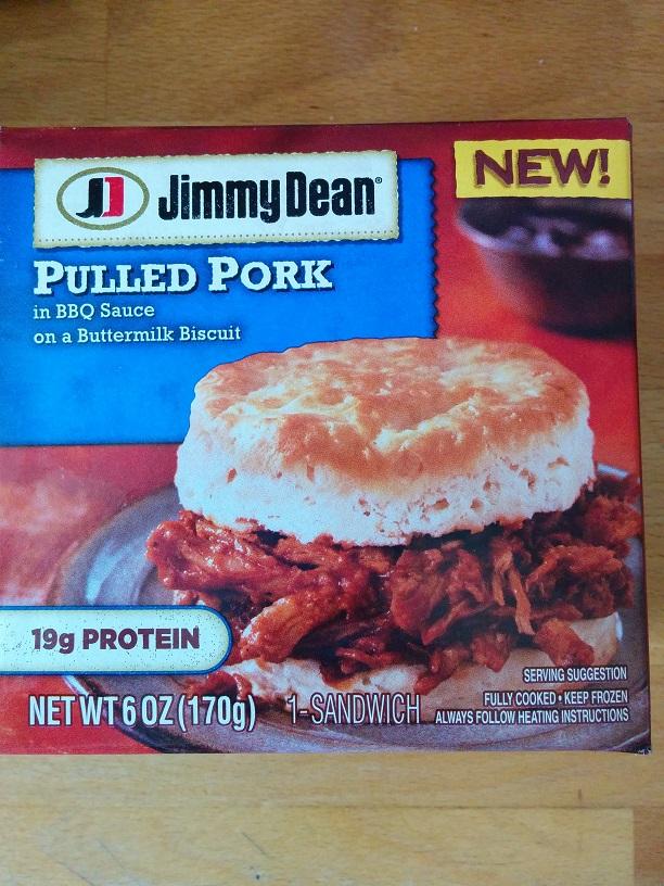 Du Bon Manger - Jimmy Dean Pulled Pork Biscuit Sandwich 1