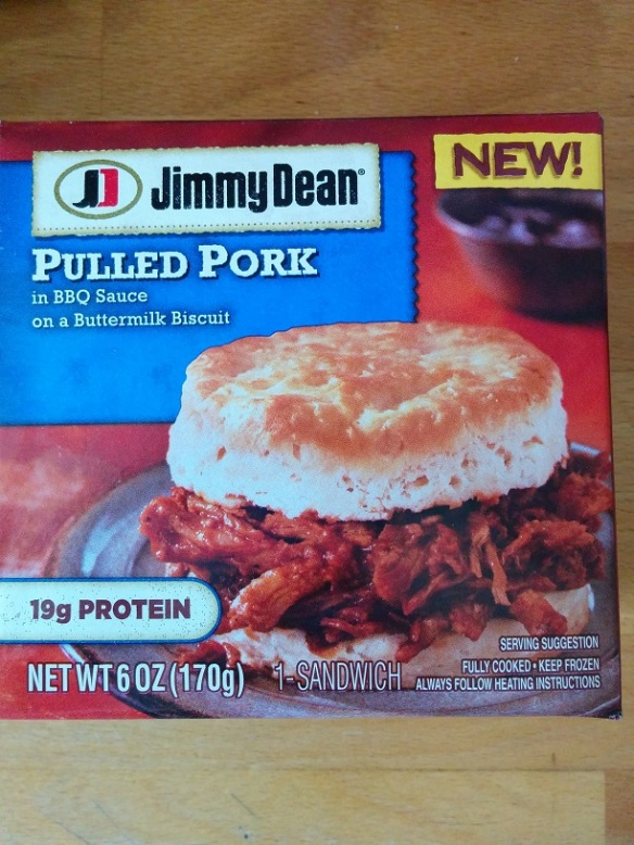 Du Bon Manger - Jimmy Dean Pulled Pork Biscuit Sandwich 1
