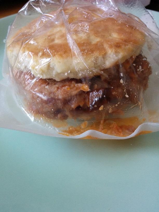 Du Bon Manger - Jimmy Dean Pulled Pork Biscuit Sandwich 3