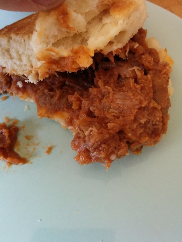 Du Bon Manger - Jimmy Dean Pulled Pork Biscuit Sandwich 5