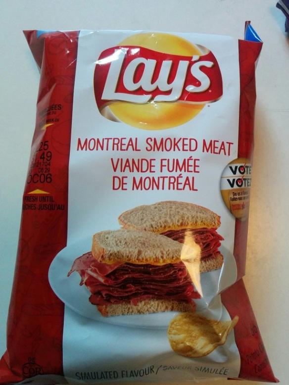 Du Bon Manger - lays 2015 smoked meat