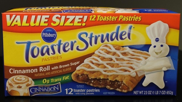 Du Bon Manger - pillsvury toaster strudel