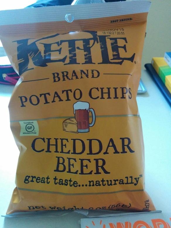 Du Bon Manger- Chips cheddar beer